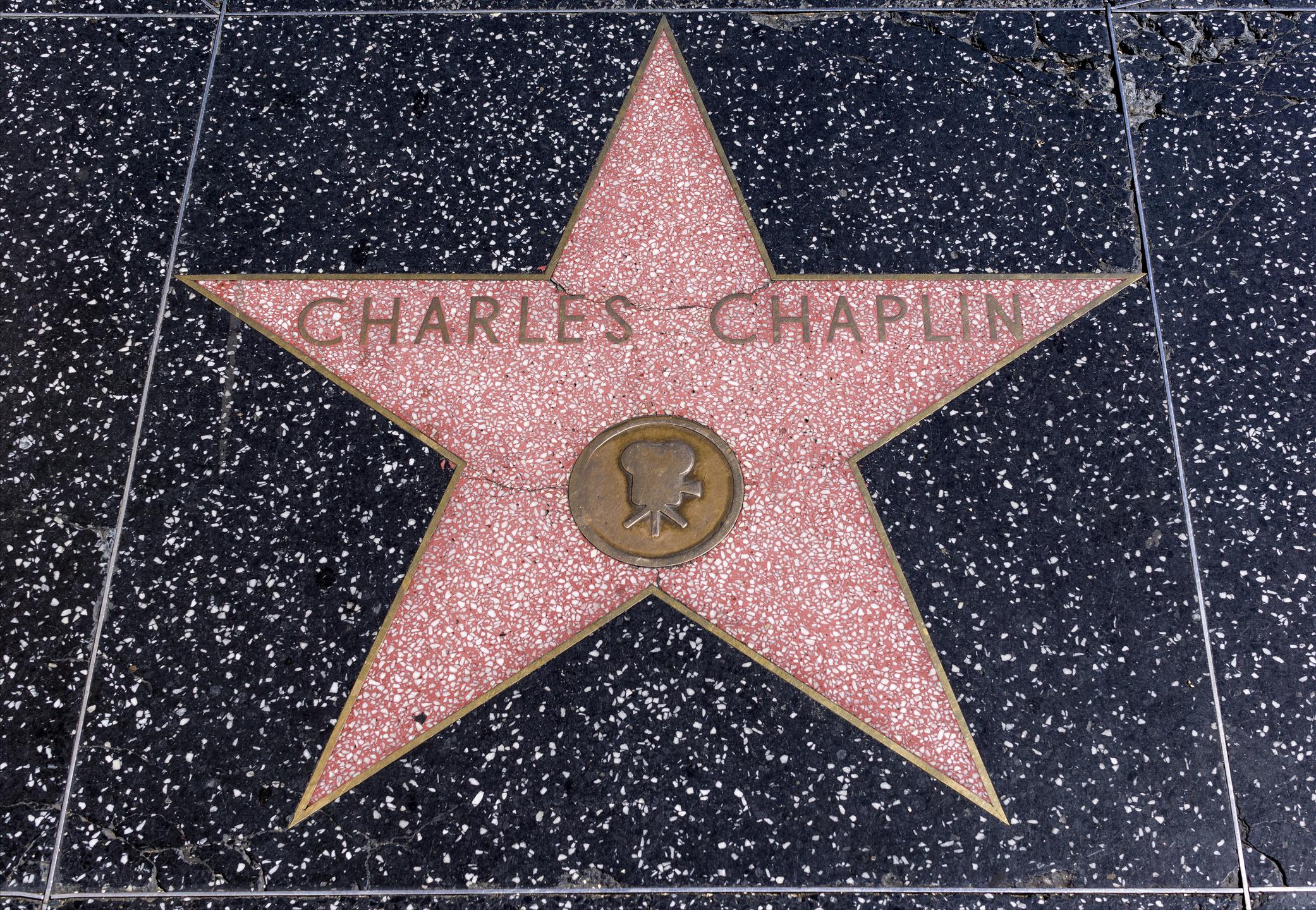 Kompositören Charlie Chaplin Image